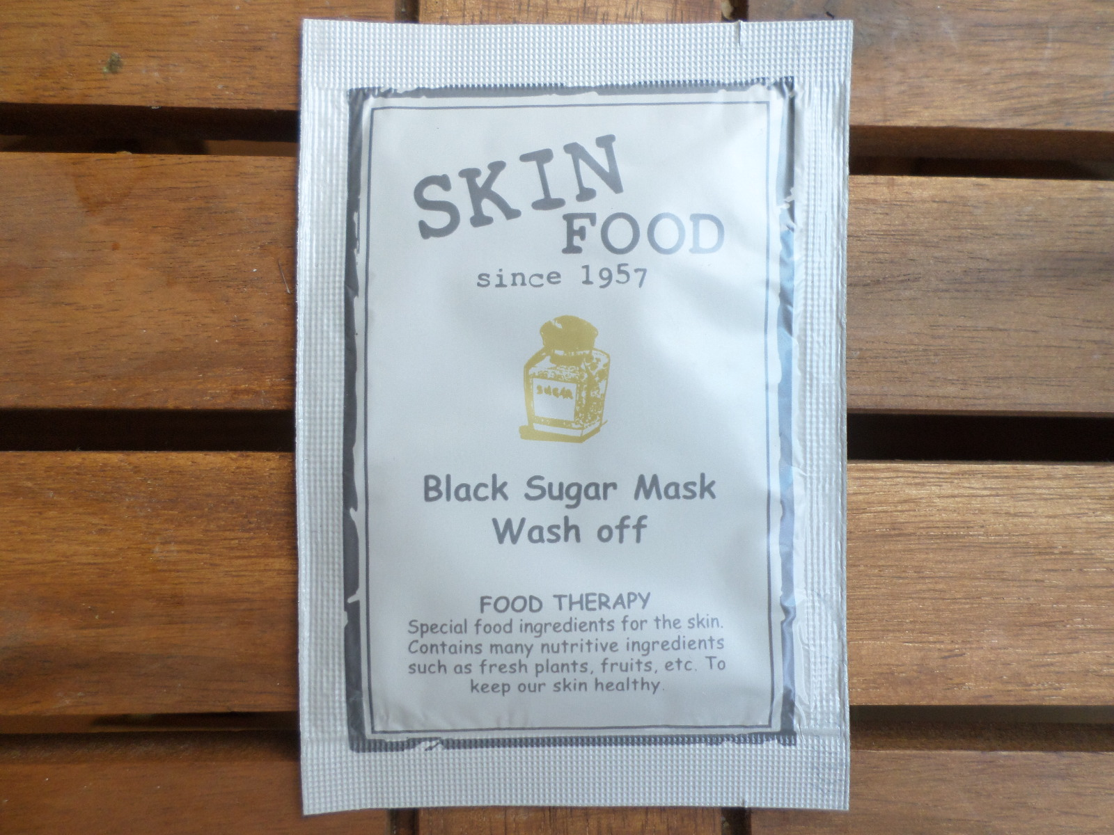Sample Sundays Skin Food Black Sugar Mask Wash Off Review Strawberry